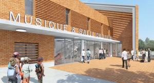 ECOLE DE MUSIQUE - ARCHITECTES : LETEISSIER - CORRIOL ARCHITECTURE ET URBANISME