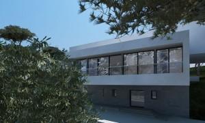PROJET PAREYRAOU : VUE EXTERIEURE - ARCHITECTES : 3A ARCHITECTES ASSOCIES