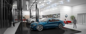 INTERIEUR CONCESSIONNAIRE BMW - ARCHITECTE : HALIM FAIDI - STUDIO A